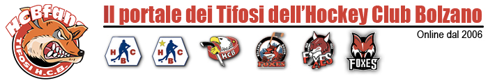 HCBfans.net - Portale tifosi dell'Hockey Club Bolzano