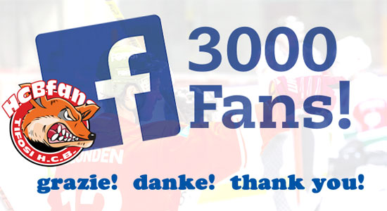 3000 followers facebook